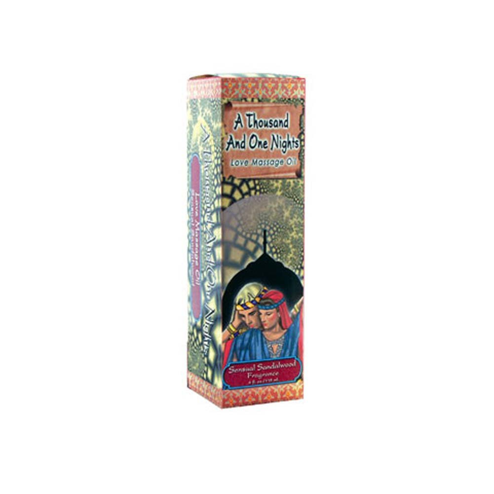 1001 Nights Massage Oil Sensual Sandalwood - View #1