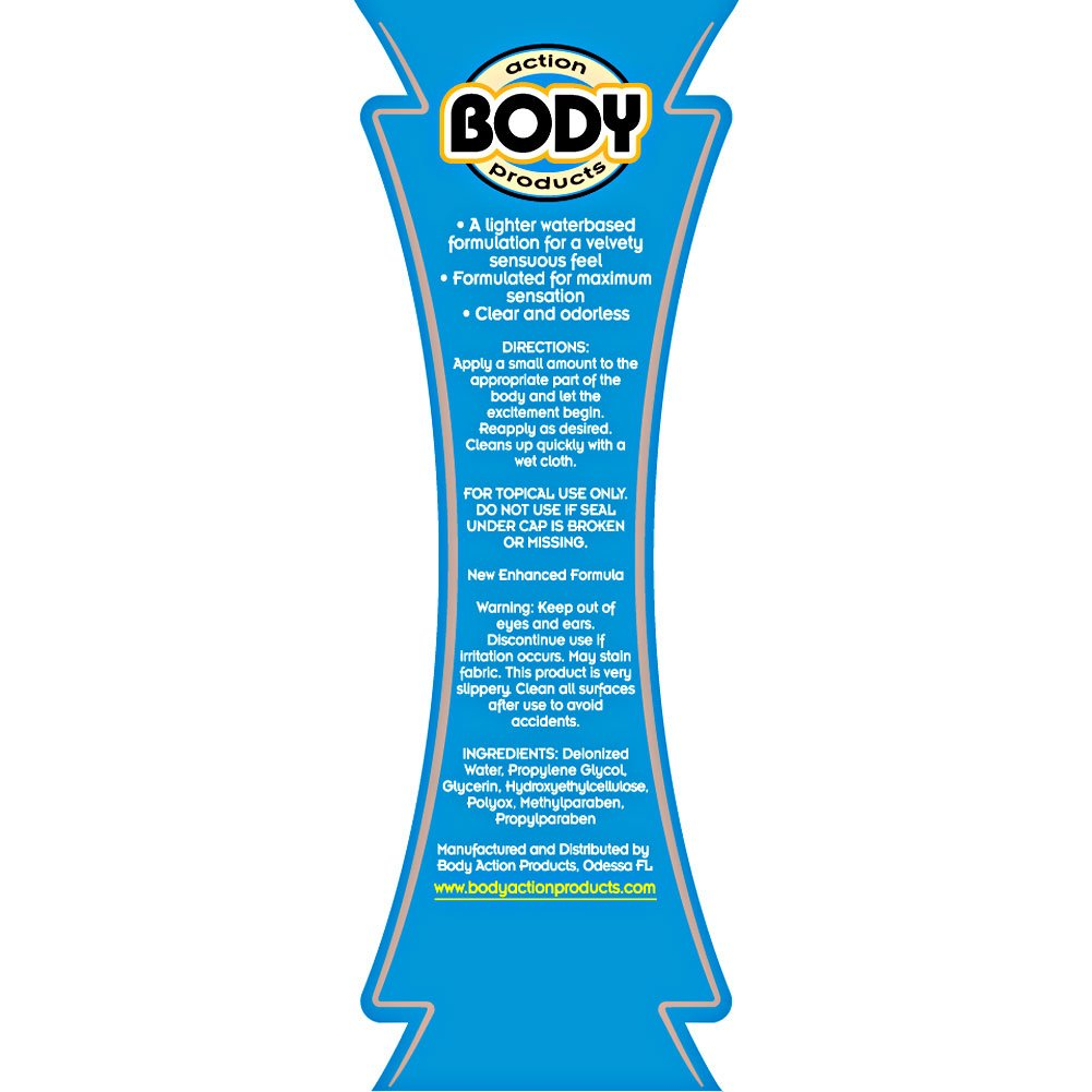 Body Action Ultra Glide Personal Lubricant 4.8 Fl.Oz 142 mL - View #1