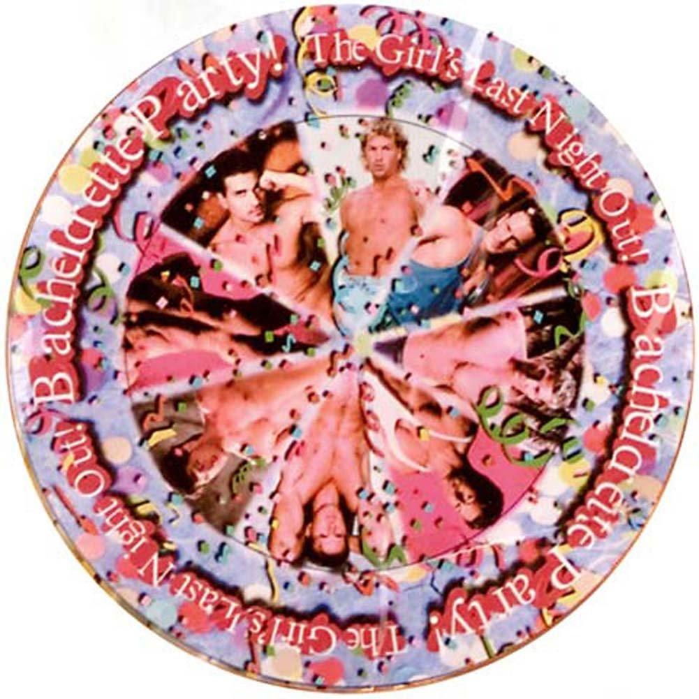 Bachelorette Party Favors Plates 8 Pc. - View #2