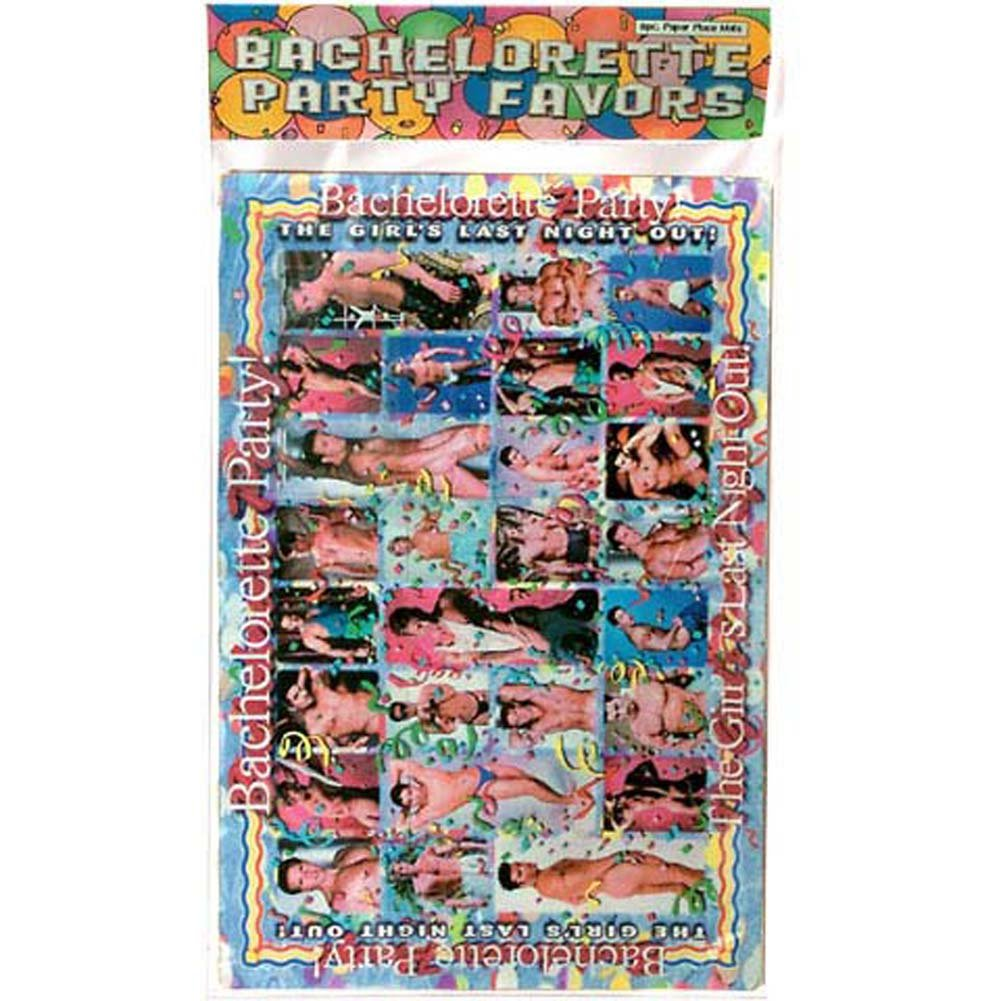 Bachelorette Party Favors Place Mats Pack of 8 - View #1