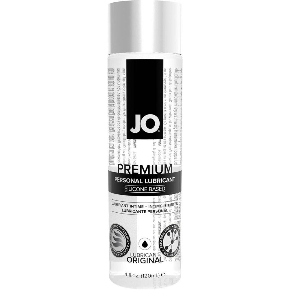 JO Premium Original Personal Silicone Based Lubricant 4 Fl.Oz 120 mL - View #2