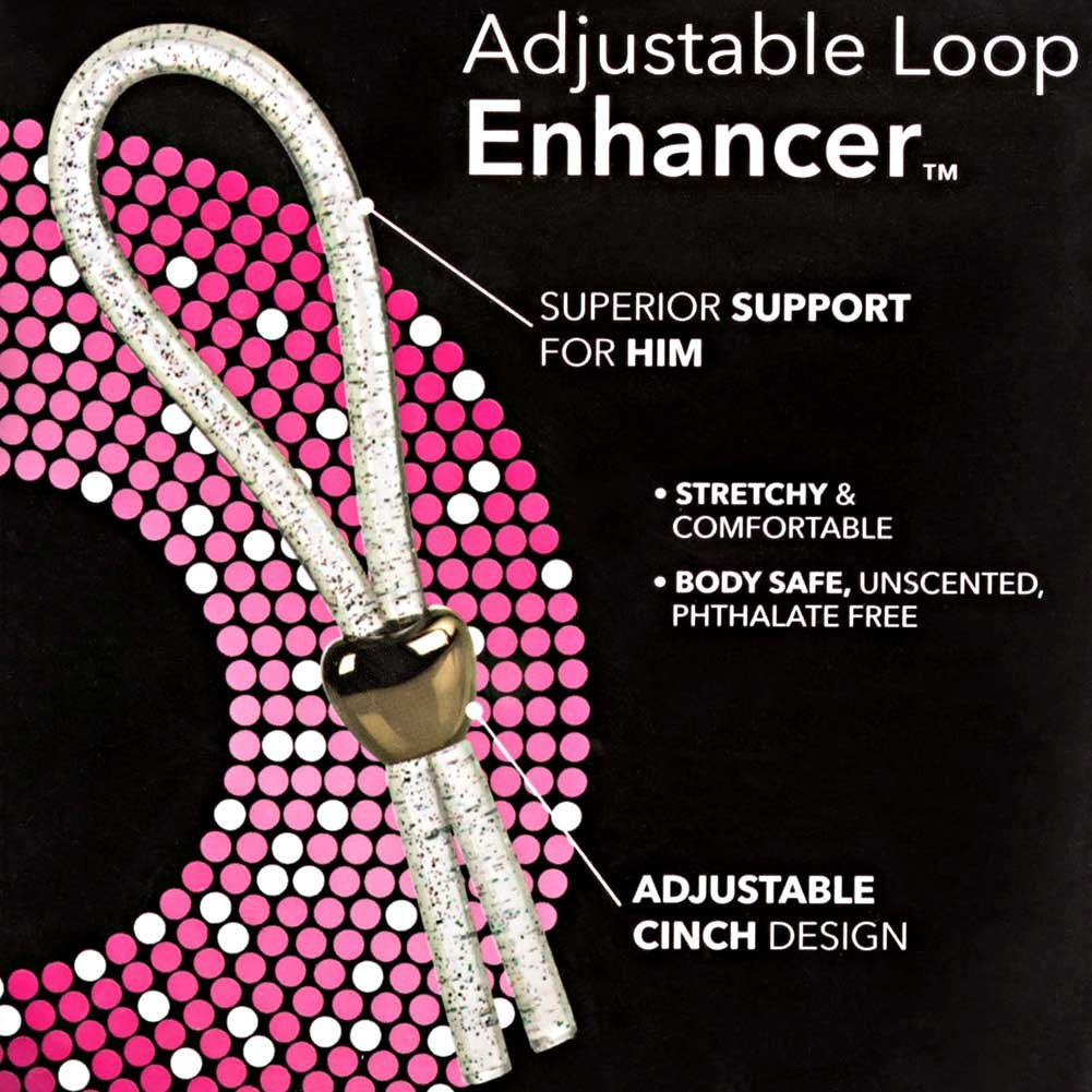 Adjustable Loop Erection Enhancer for Men Red - View #1