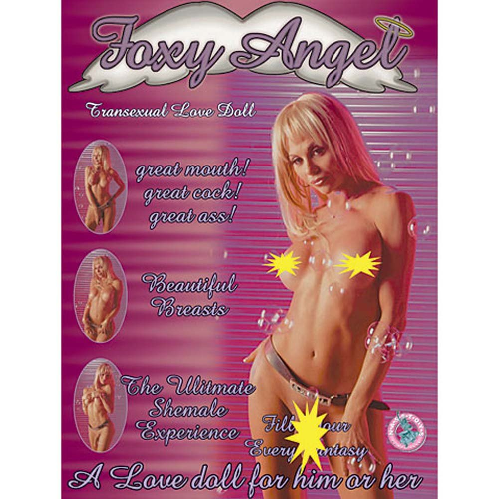 Foxy Angel Transsexual Vibrating Love Doll - View #2