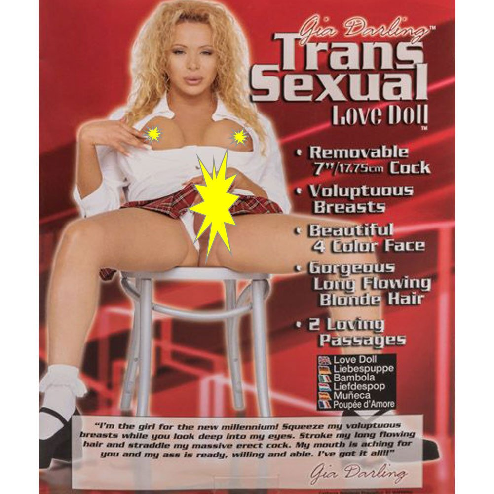 Gia Darling Inflatable Transsexual Love Doll - View #1