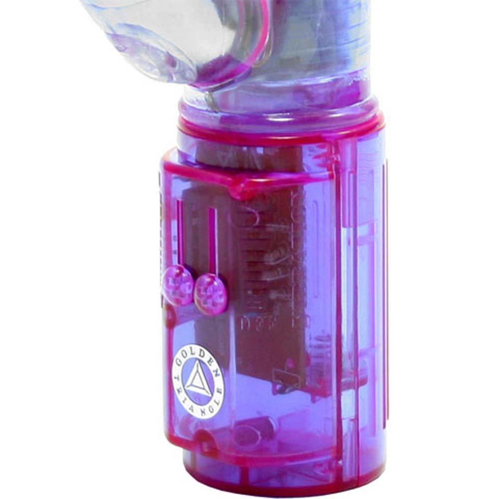 "Cyberwabbit Vibrator 6.5"" Purple - View #3"