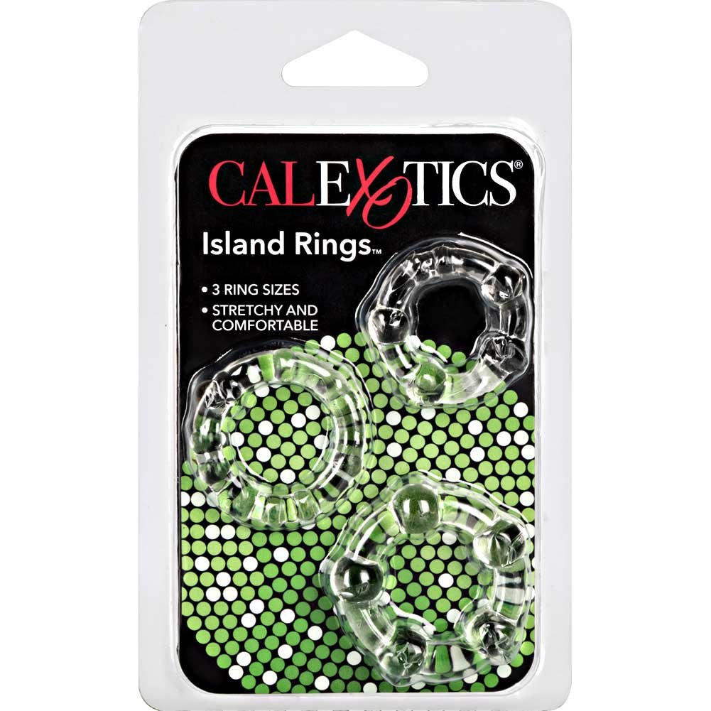 Island Silicone Rings 3 Sizes Clear - View #4