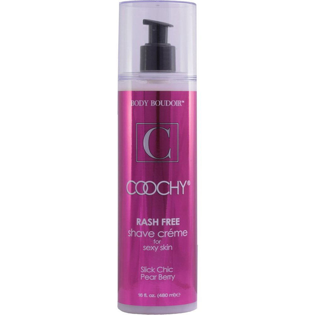 Coochy Rash Free Intimate Shave Creme 16 Fl.Oz 472 mL Pear Berry - View #2