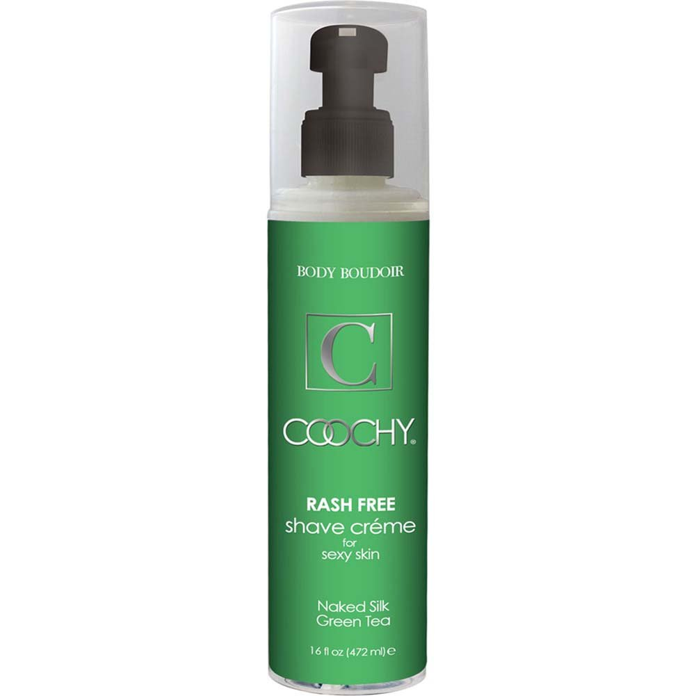 Coochy Rash Free Intimate Shave Creme 16 Fl.Oz 472 mL Naked Silk Green Tea - View #1