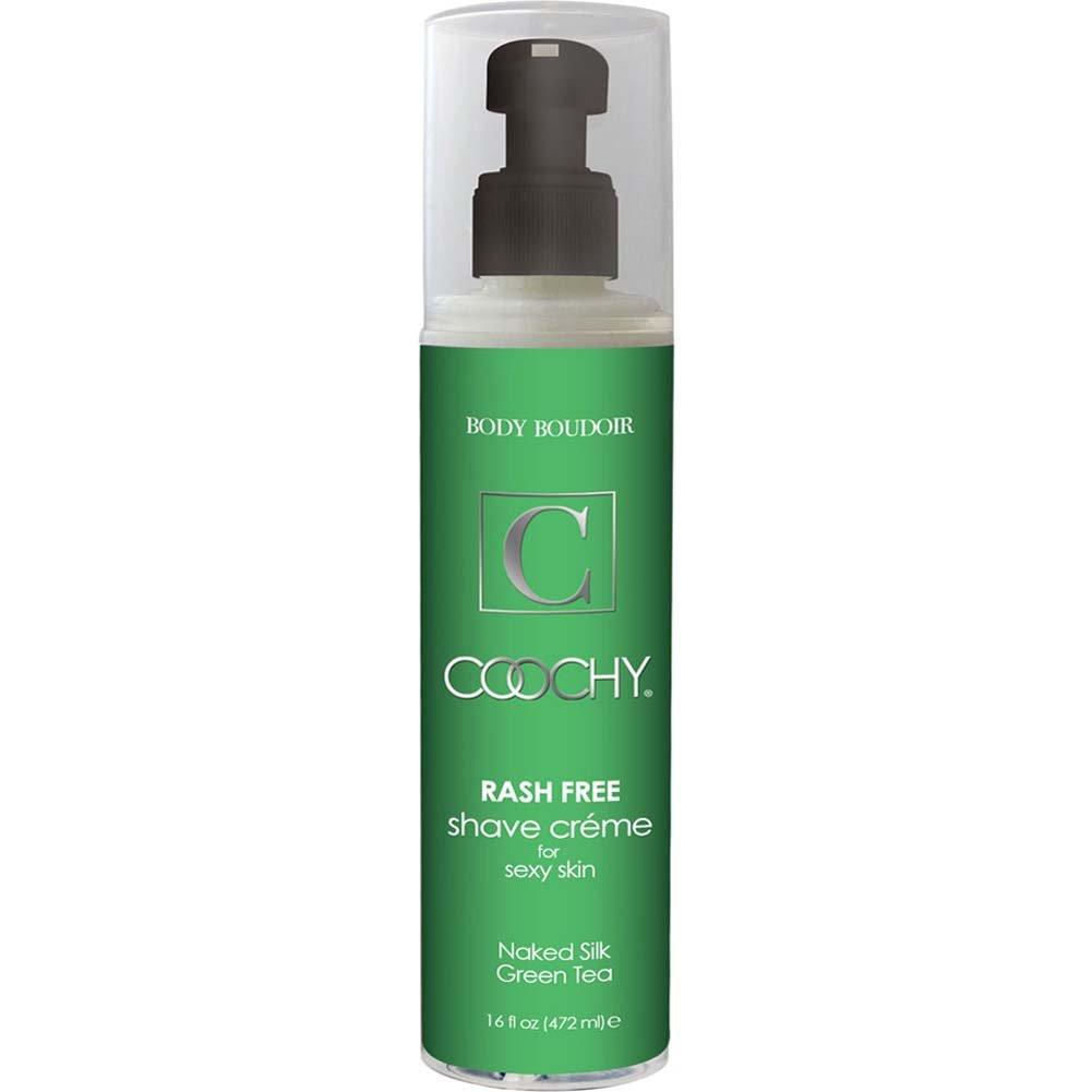 Coochy Rash Free Intimate Shave Creme 16 Fl.Oz 474 mL Naked Silk Green Tea - View #1