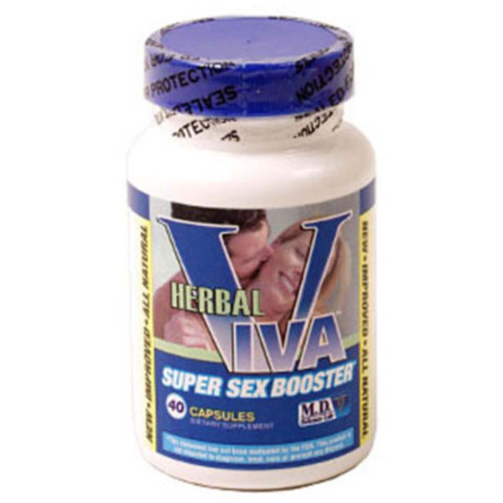 Herbal Viva Super Sex Booster 40 Capsules - View #1