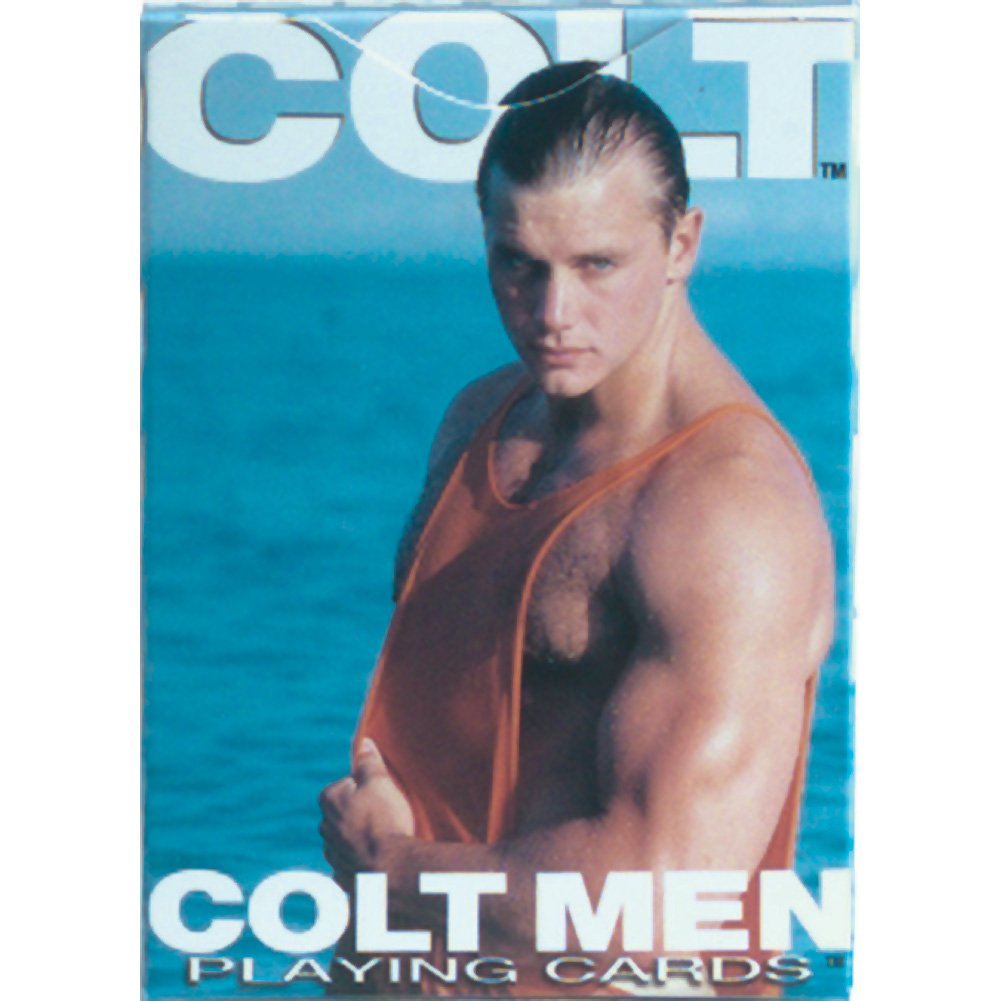 Colt Men Playing Cards - View #2