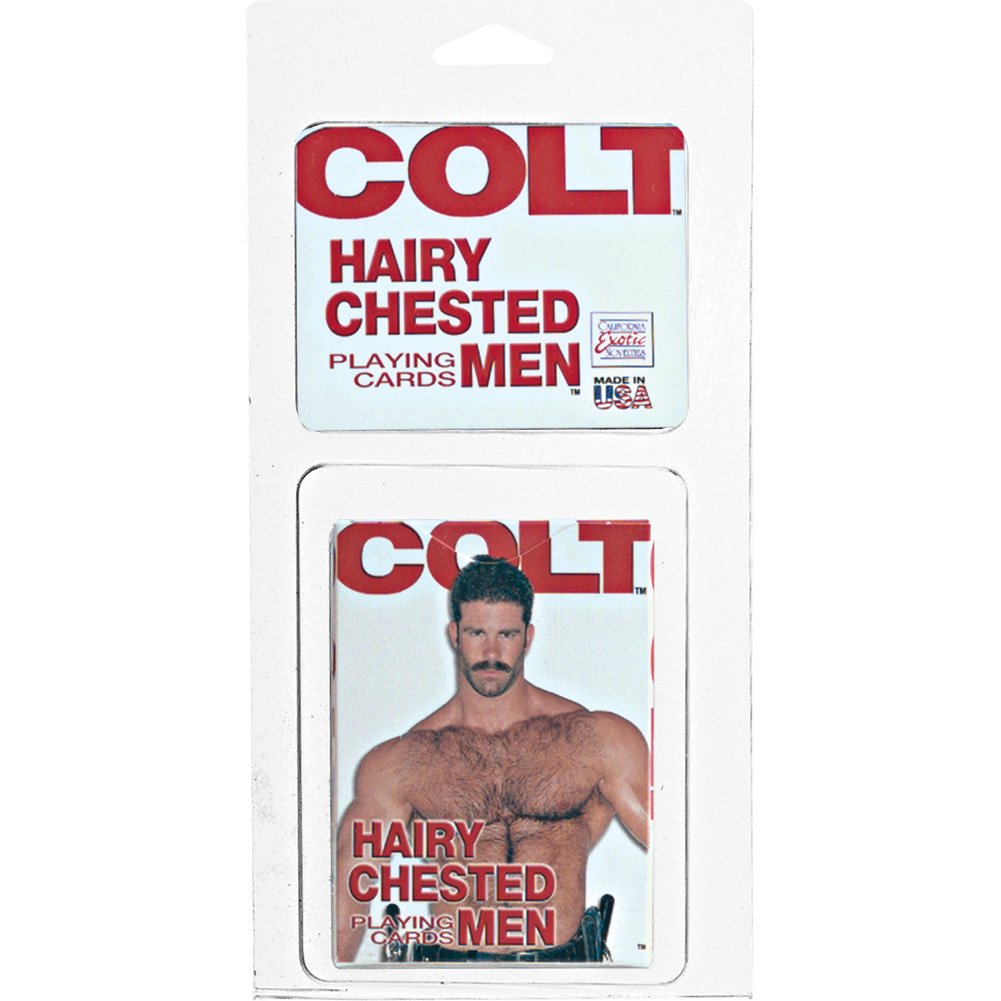 California Exotics COLT Hairy Chested Men Playing Cards - View #1