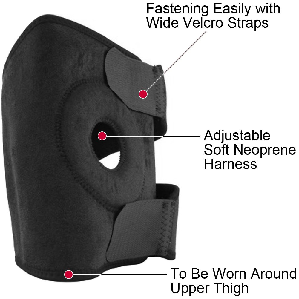 Soft Neoprene Adjustable Thigh Harness - View #1