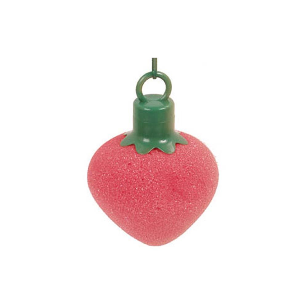 Waterproof Vibrating Mini Bath Buddies Strawberry - View #1