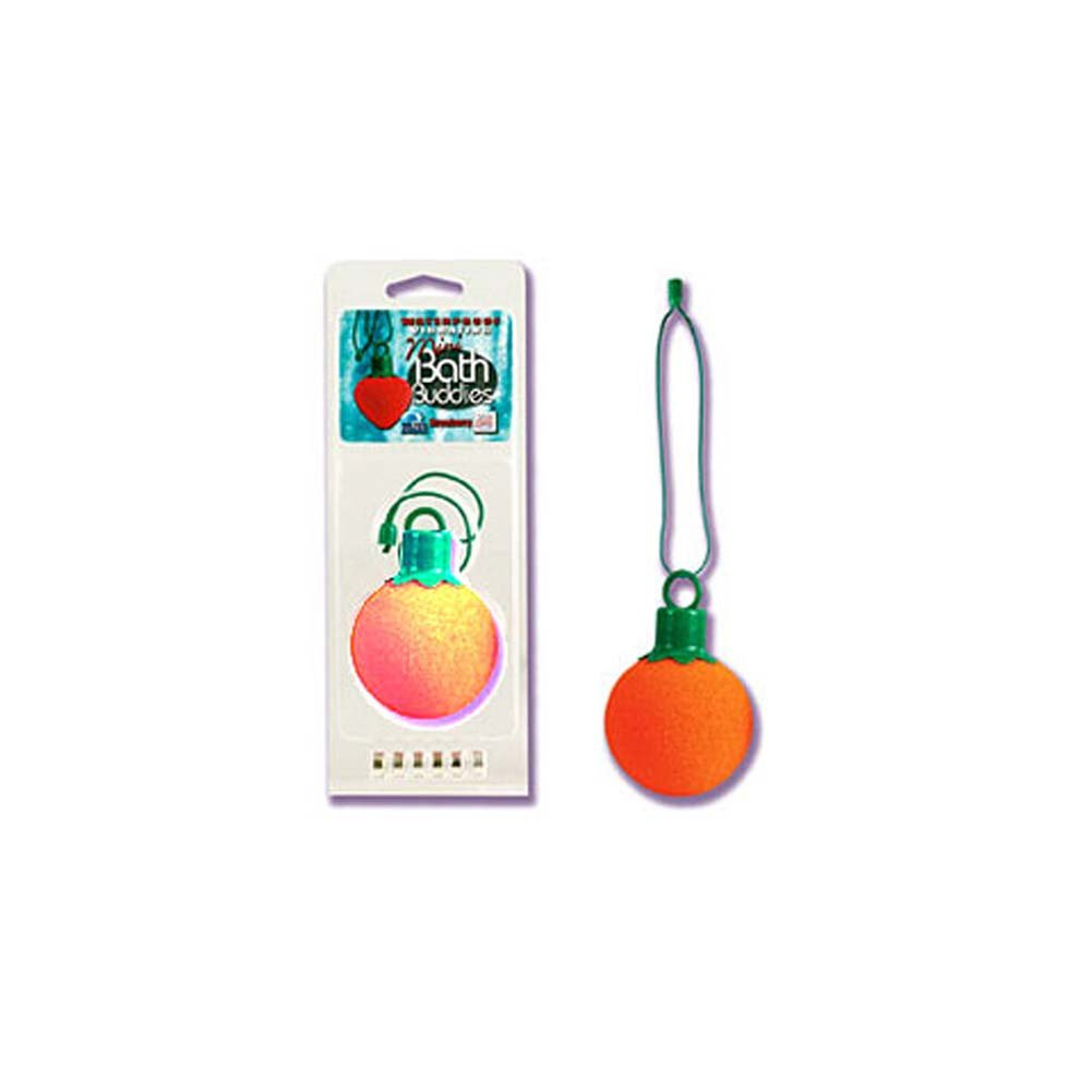 Waterproof Vibrating Mini Bath Buddies Orange - View #2