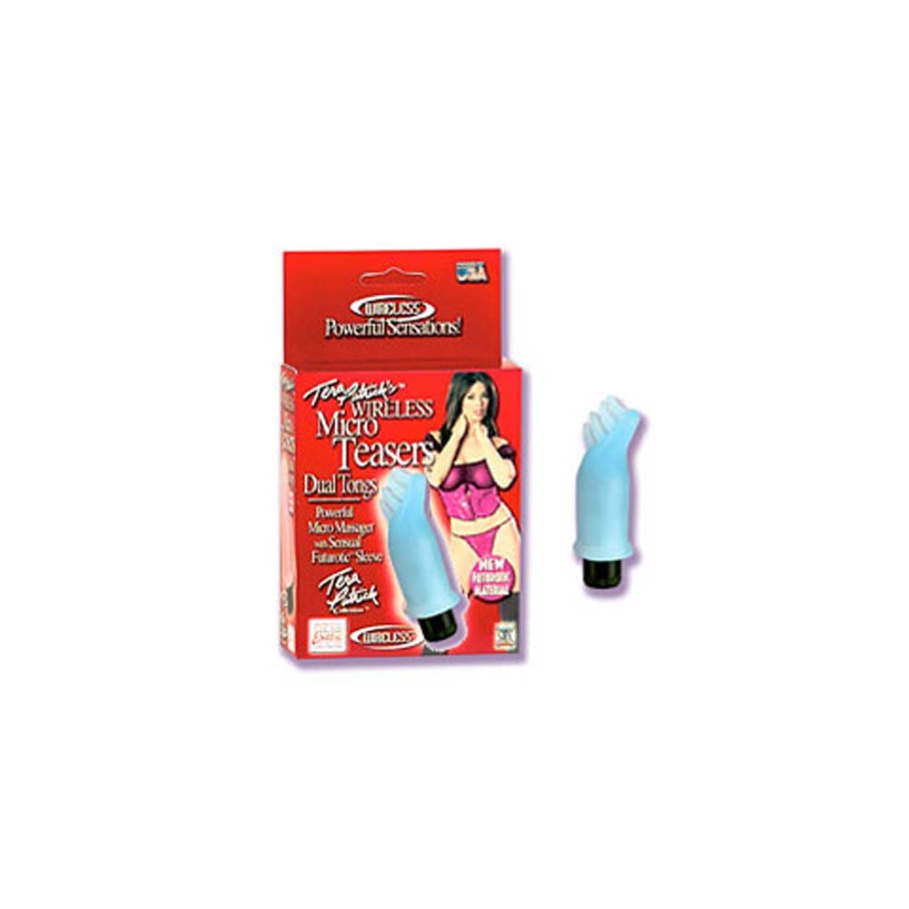 Tera Patricks Wireless Micro Teasers Blue Tickler Bullet - View #2