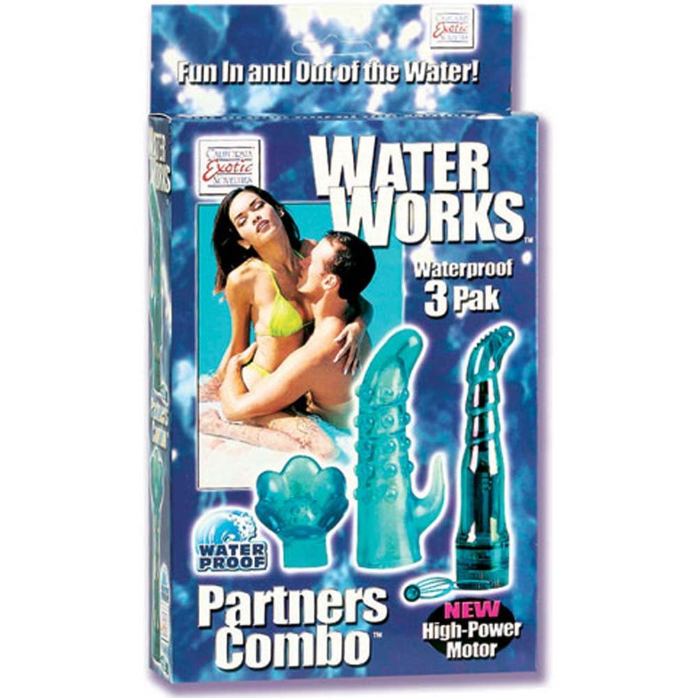 Waterworks Waterproof 3 Pak with Wireless Vibe and 2 Sleeves - View #1