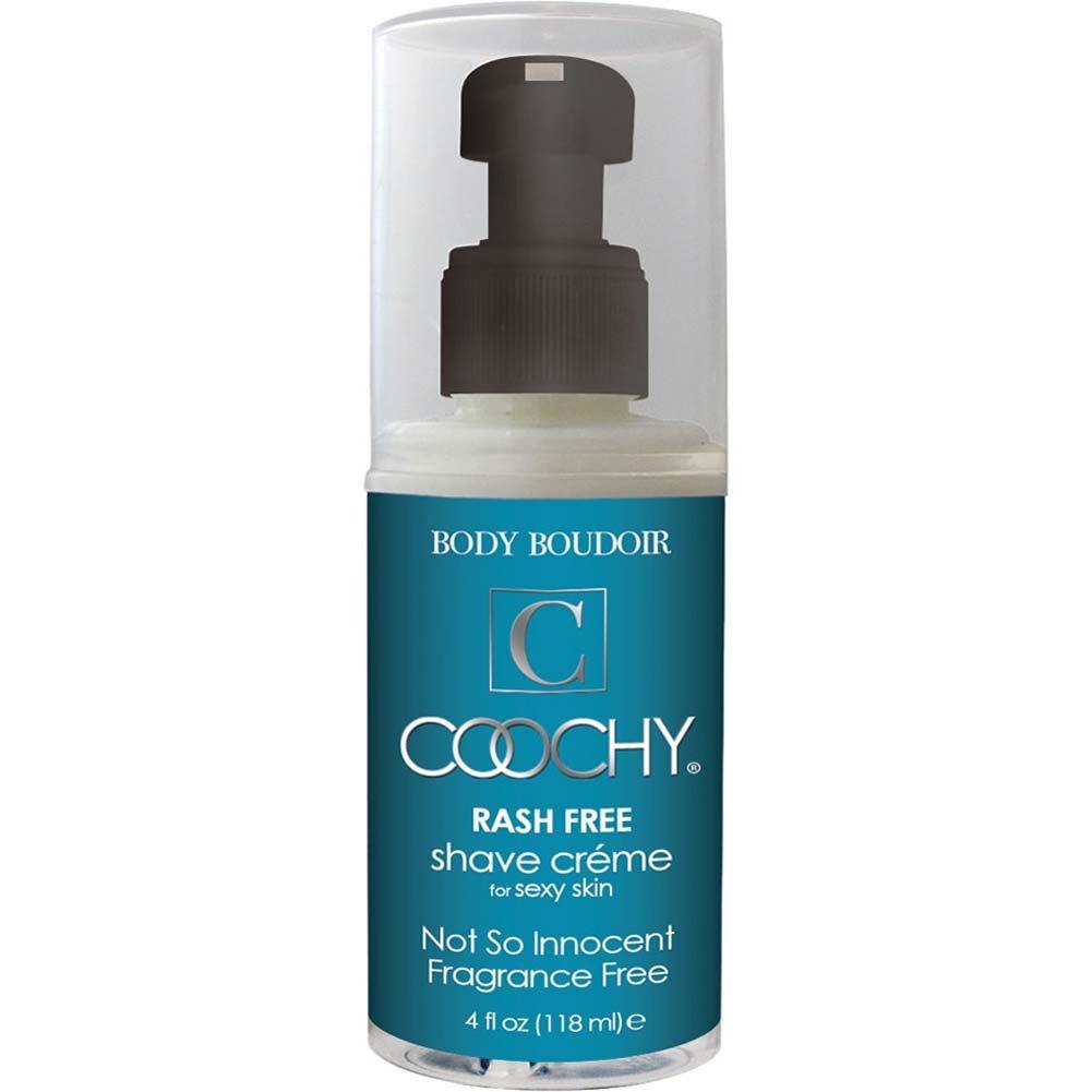 Coochy Rash Free Shave Creme Fragrance Free 4 Fl. Oz. - View #1