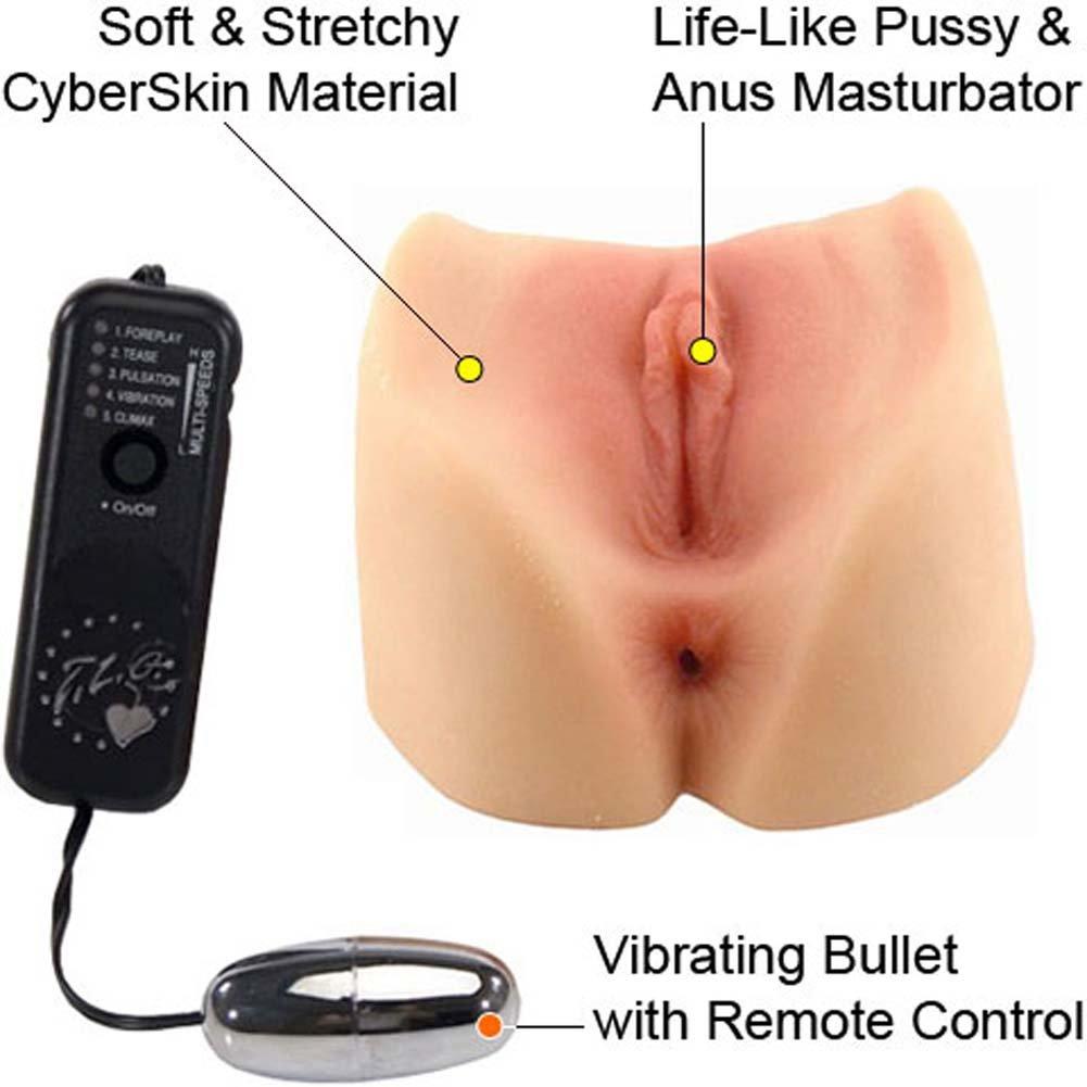 Jill Kelly Jenna Hazes CyberSkin Vibrating Pussy and Ass - View #1