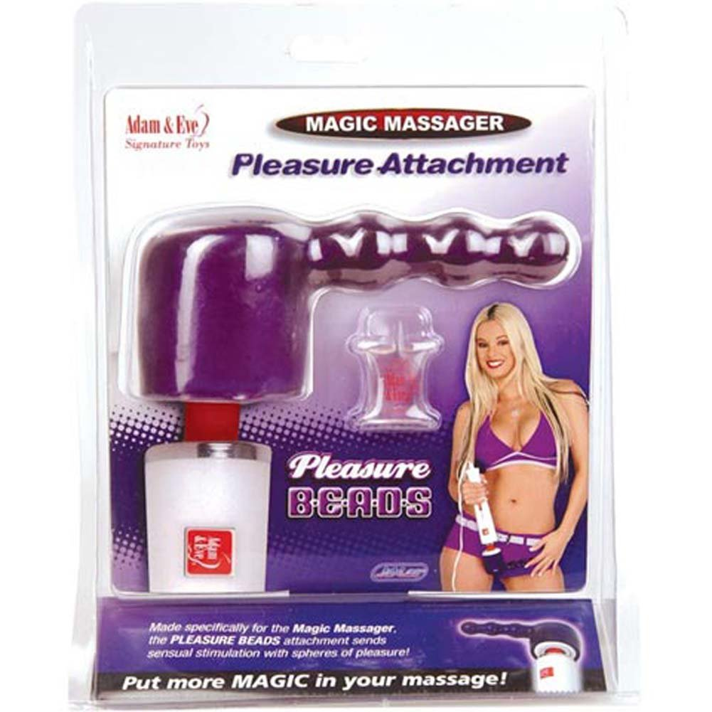 "Pleasure Beads Magic Massager Attachment 3.75"" - View #2"