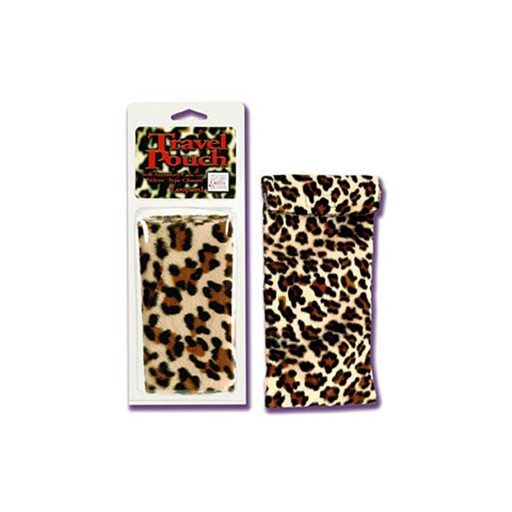 "Travel Pouch Leopard 12 by 6"" - View #2"