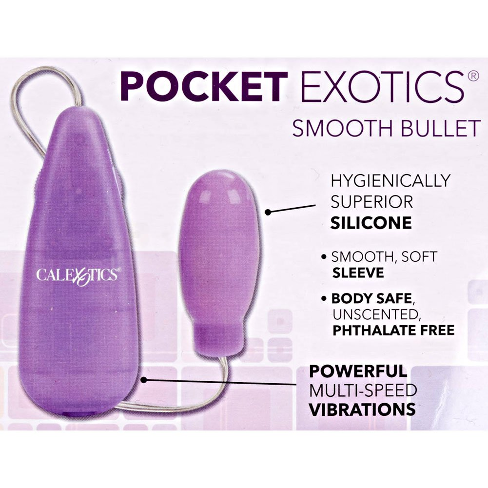 "Silicone Slims Smooth Vibrating Bullet 2.75"" - View #1"