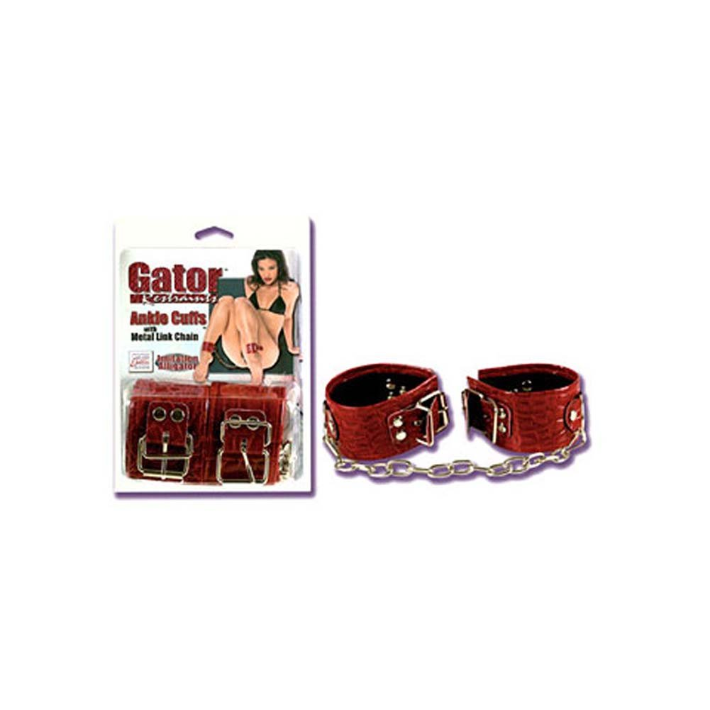 Gator Restraints Ankle Cuffs with Metal Link Chain - View #1