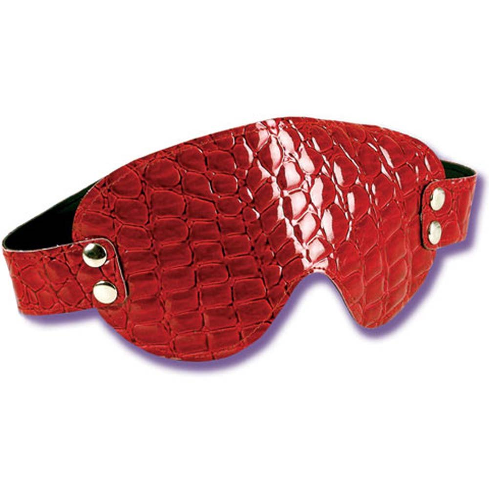 Gator Restraints Eye Mask with Adjustable Strap Red - View #2