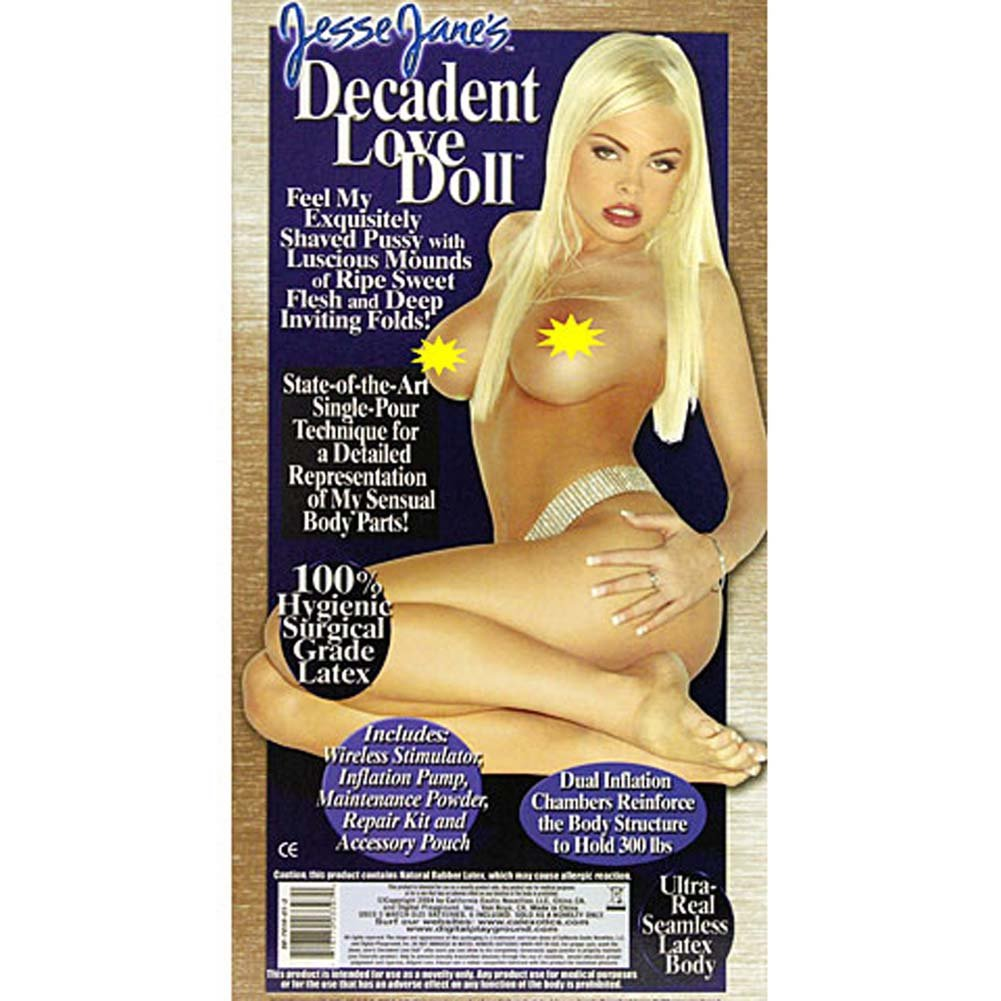 Jesse Janes Decadent Vibrating Love Doll - View #3