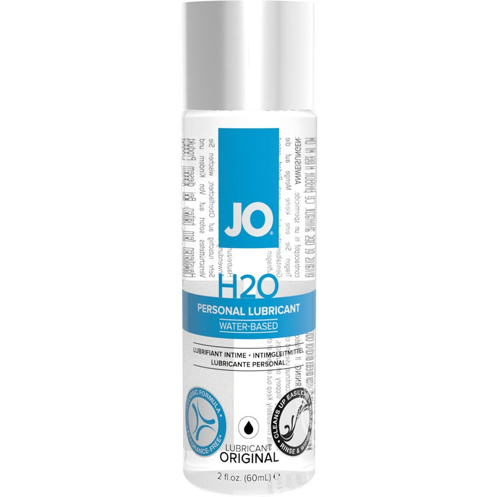 JO H2O Original Personal Water Based Lubricant 2 Fl.Oz 60 mL - View #2