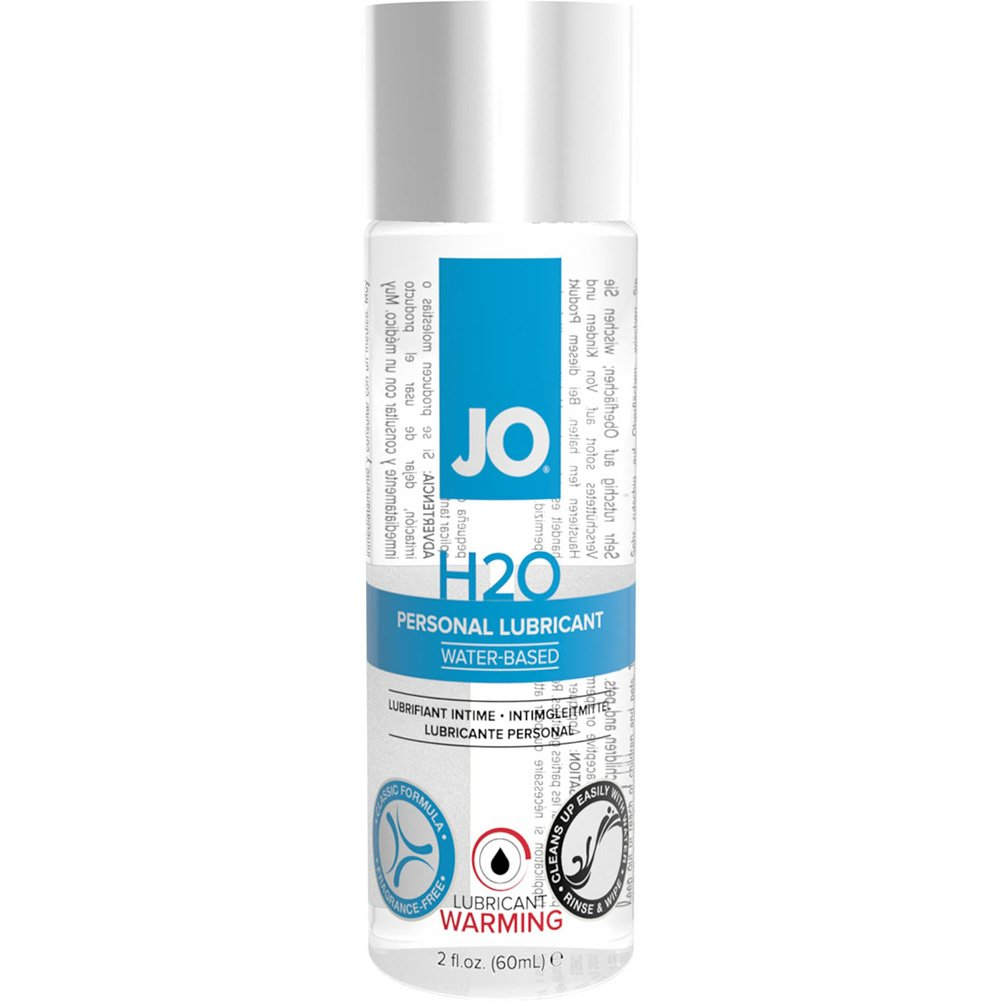 JO H2O Warming Personal Water Based Lubricant 2 Fl. Oz. - View #1