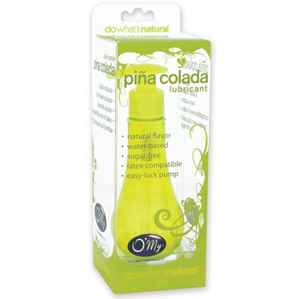 O/My Flavored Lubricant Pina Colada 4oz. - View #2