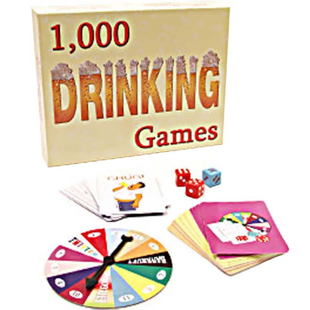 1000 Drinking Games From Kheper Games - View #2
