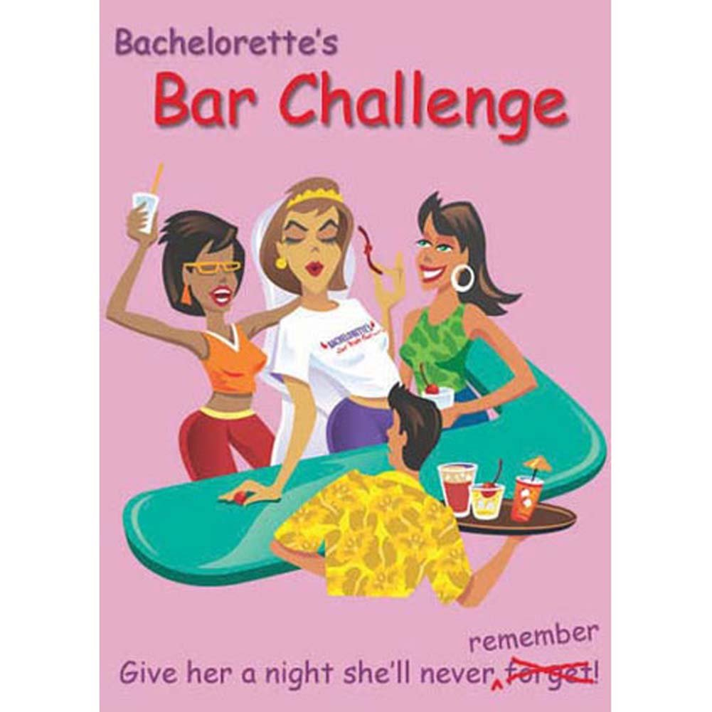 Bachelorettes Bar Challenge Card Game - View #2