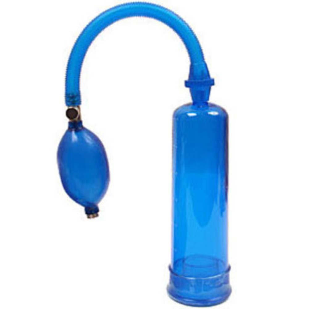 "Adam and Eve Penis Pump 7"" Blue - View #2"