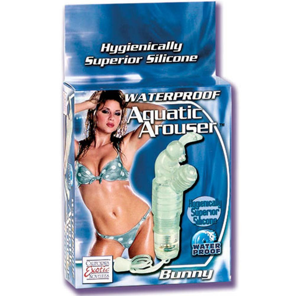 Waterproof Aquatic Arouser Bunny Silicone Wireless Vibe 4 In - View #1