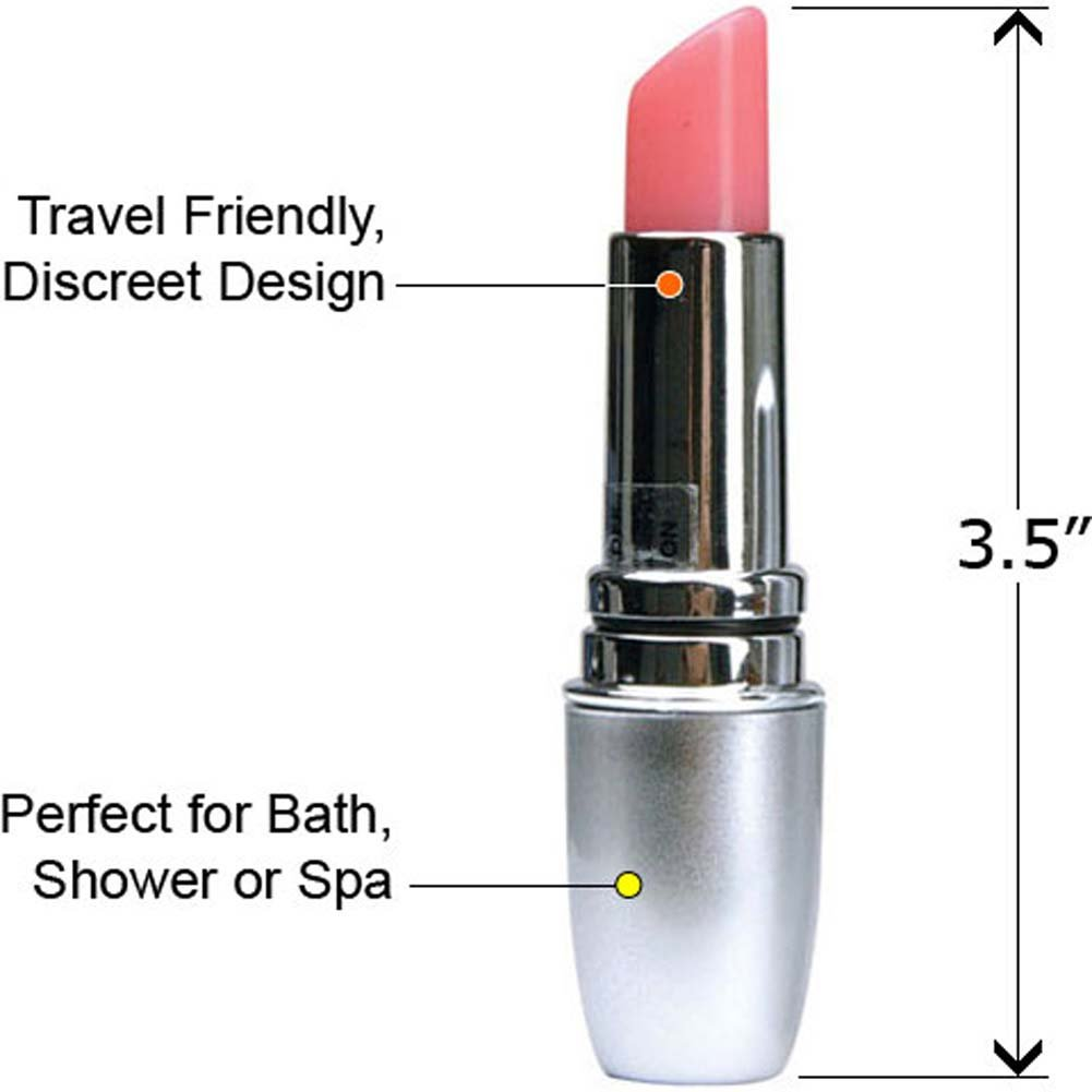 Grrl Toyz Incognito Lipstick Waterproof Vibe Hot Pink - View #2