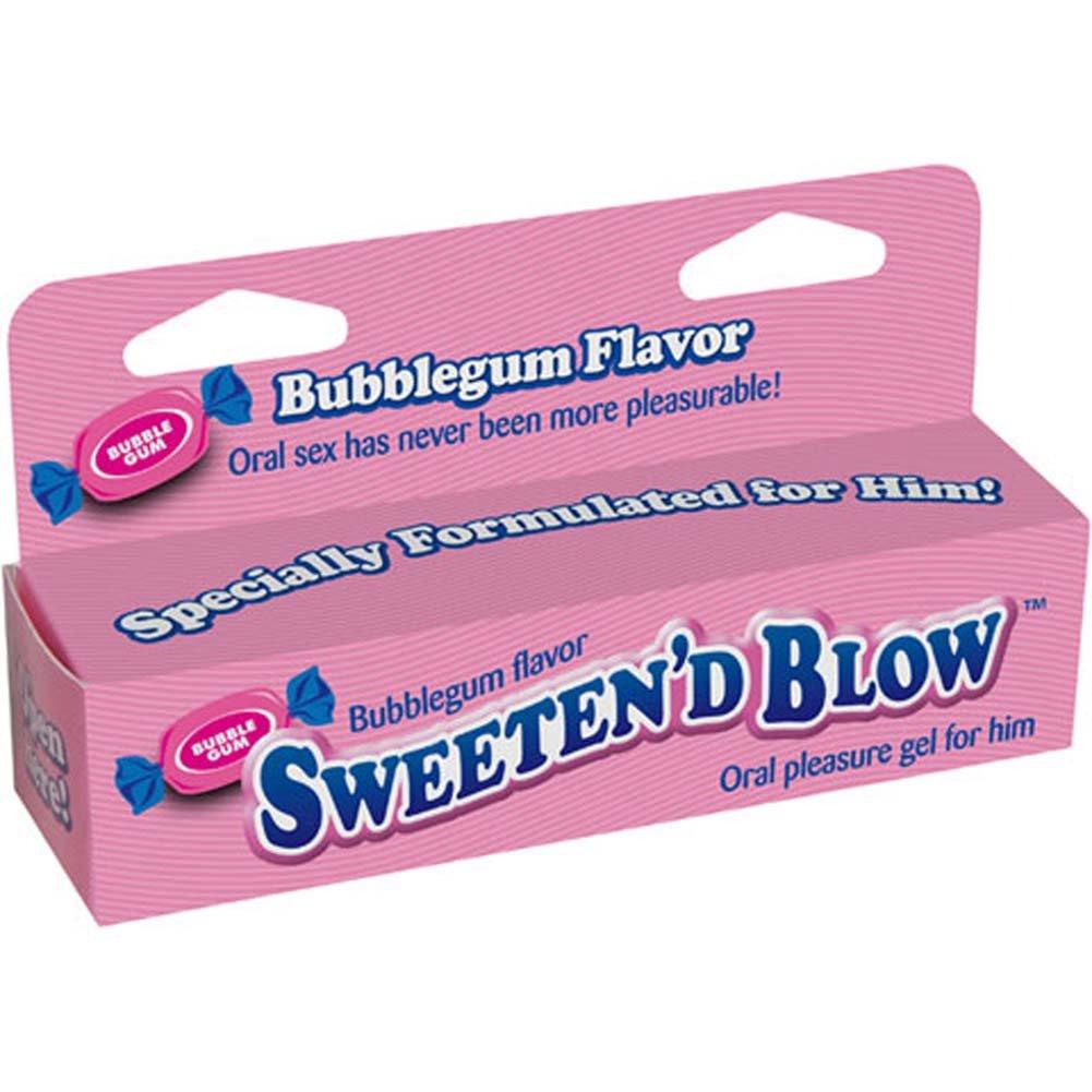 SweetenD Blow Oral Pleasure Gel 1.5 Ounce 45 mL Bubblegum - View #1
