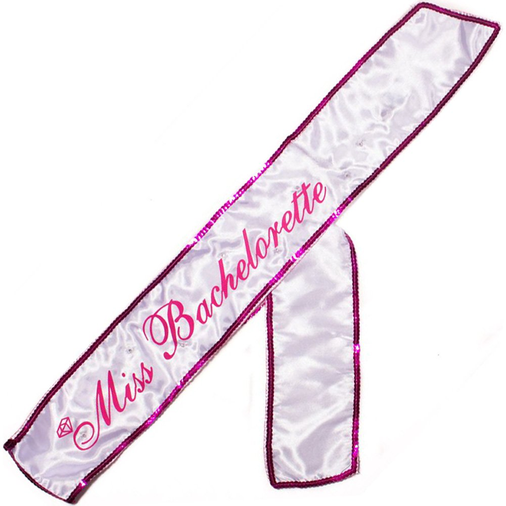 Miss Bachelorettes Flashing Sash - View #2