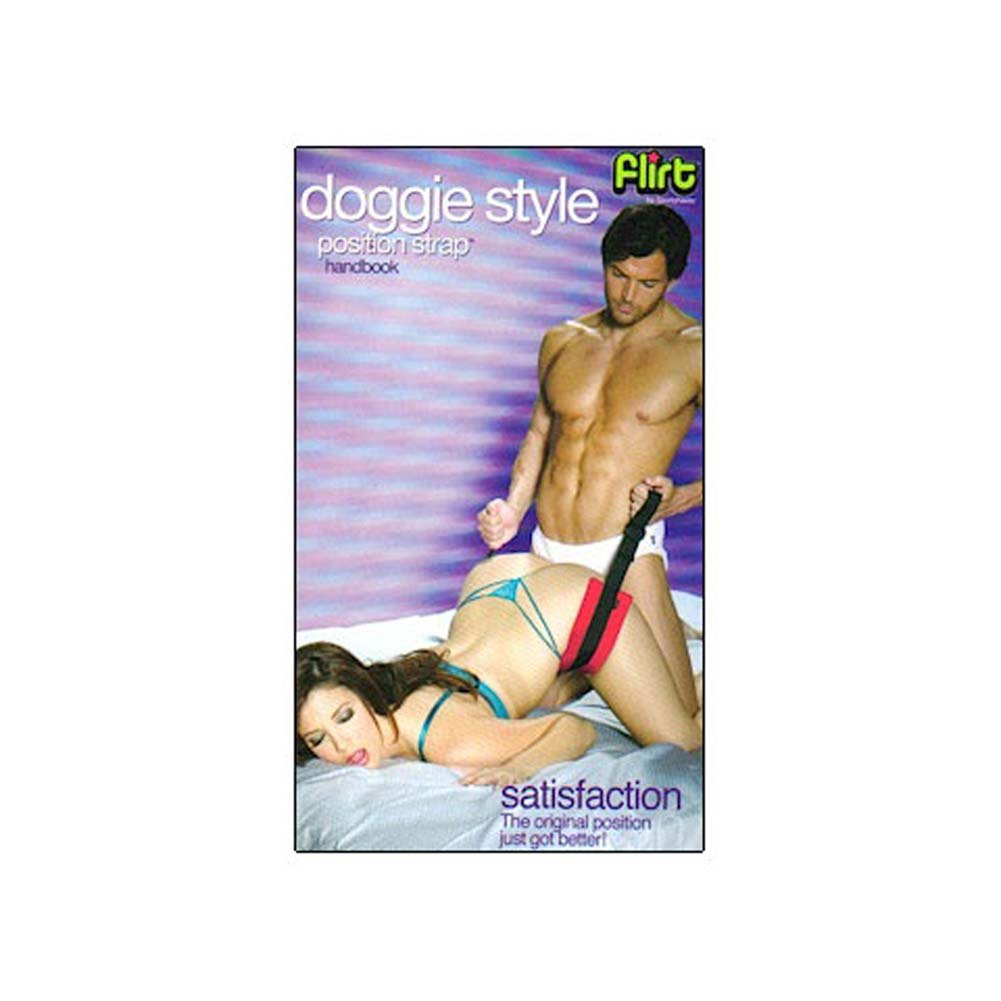 Flirt Lovers Doggie Style Position Strap - View #2
