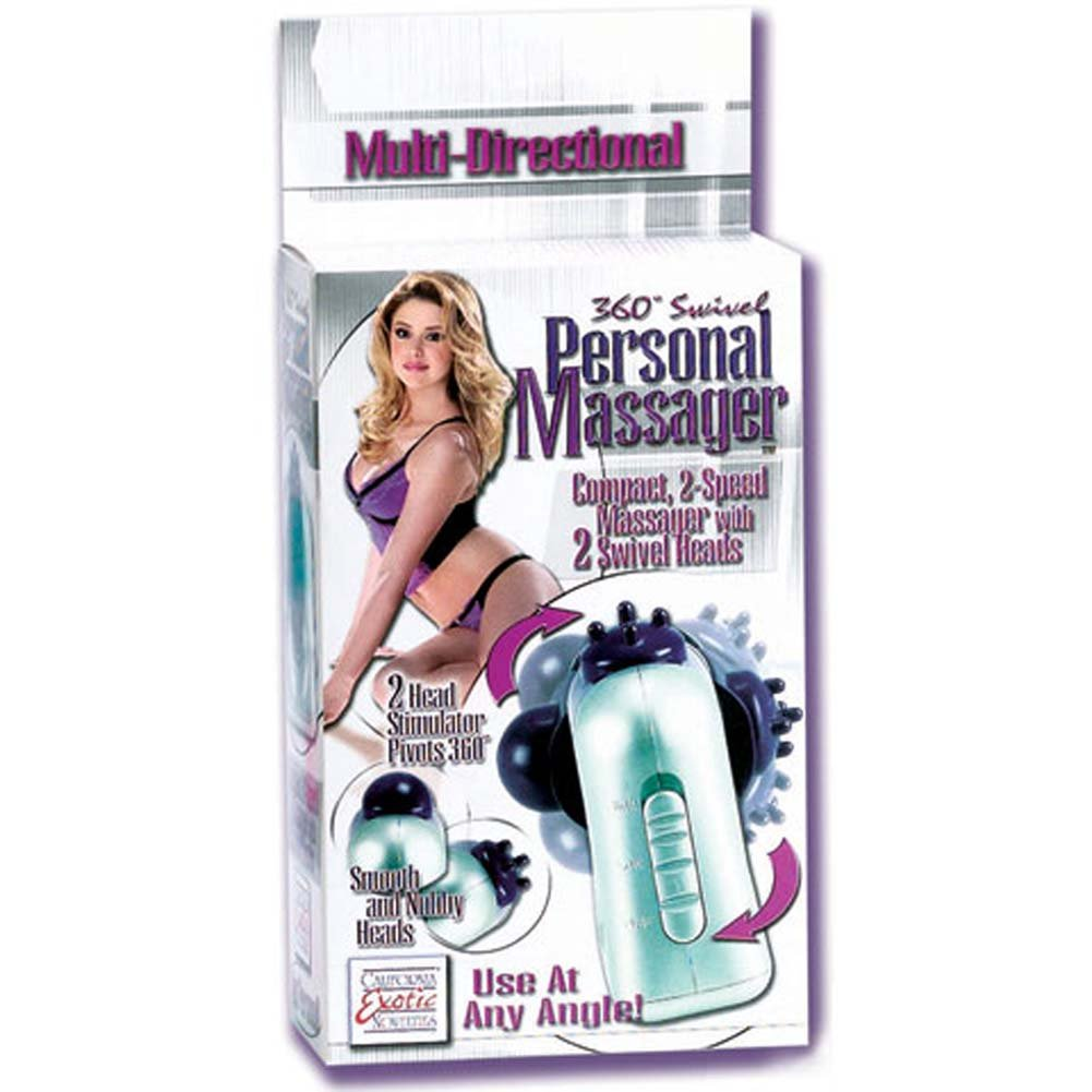 California Exotics 360 Swivel Vibrating Personal Massager - View #1