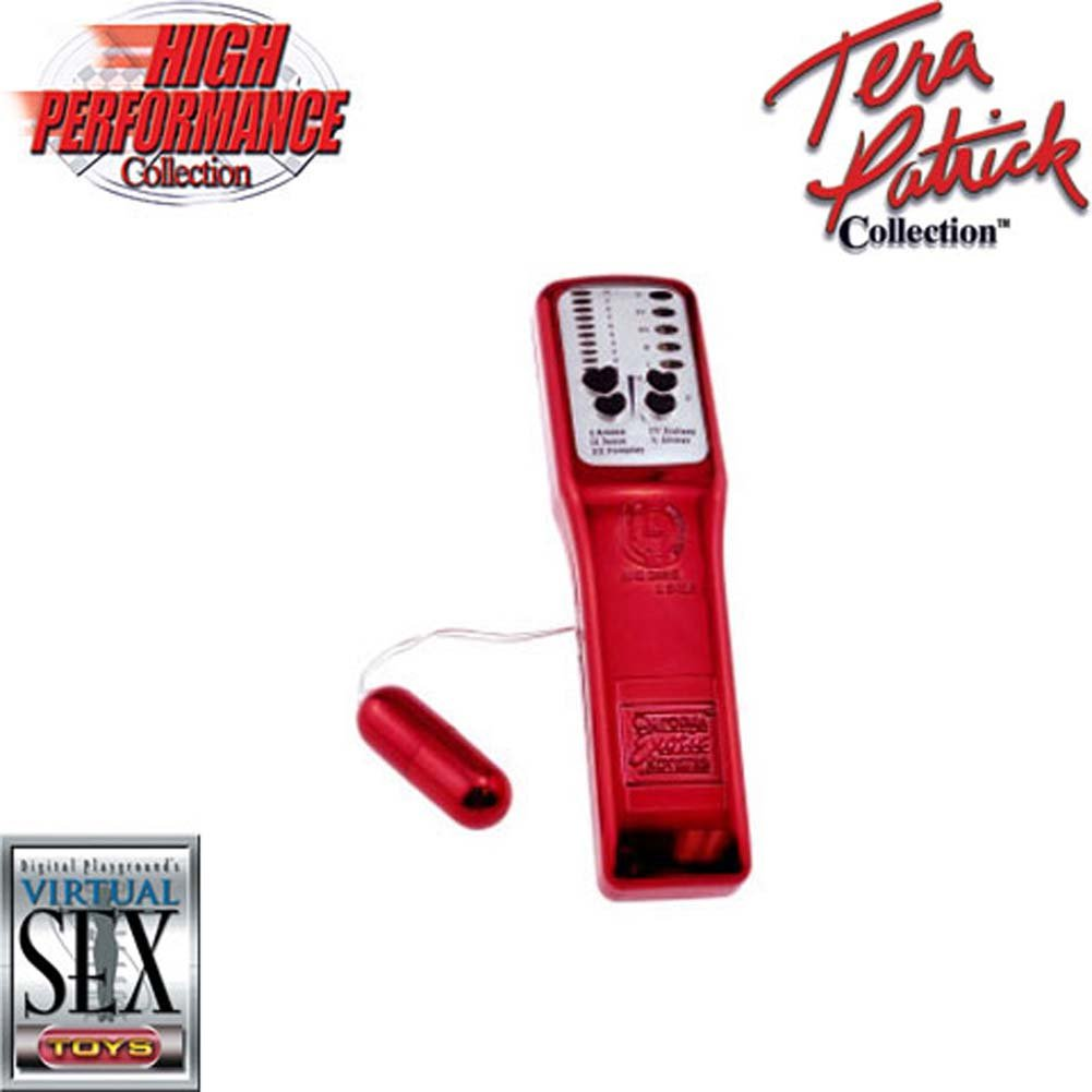 Tera Patricks Super Charged Waterproof Micro Bullet Red - View #1