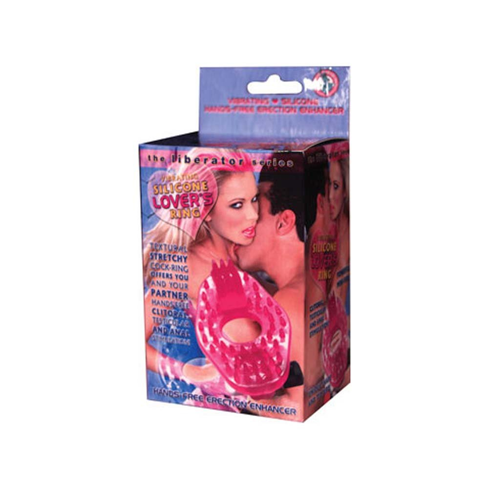 Silicone Lovers Ring Pink - View #1