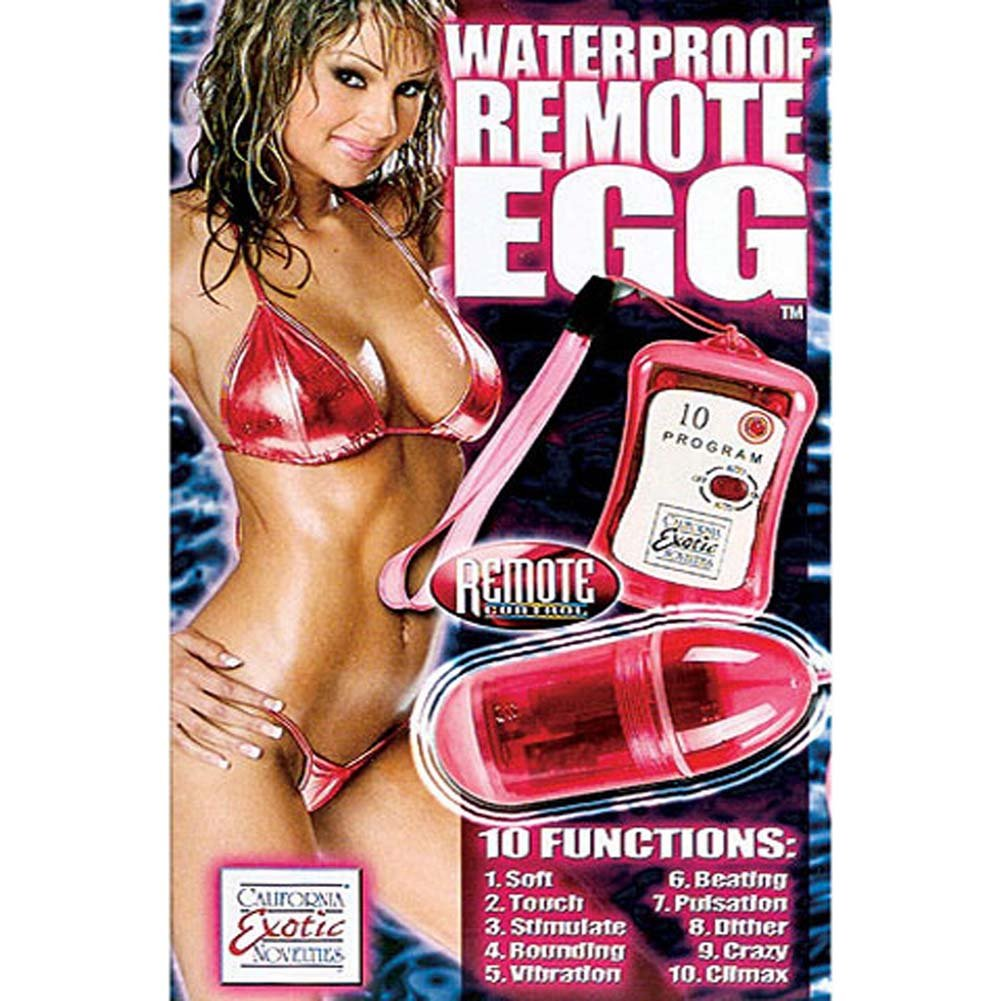 "Waterproof Egg Wity Wireless Remote Vibe 3"" Pink - View #2"
