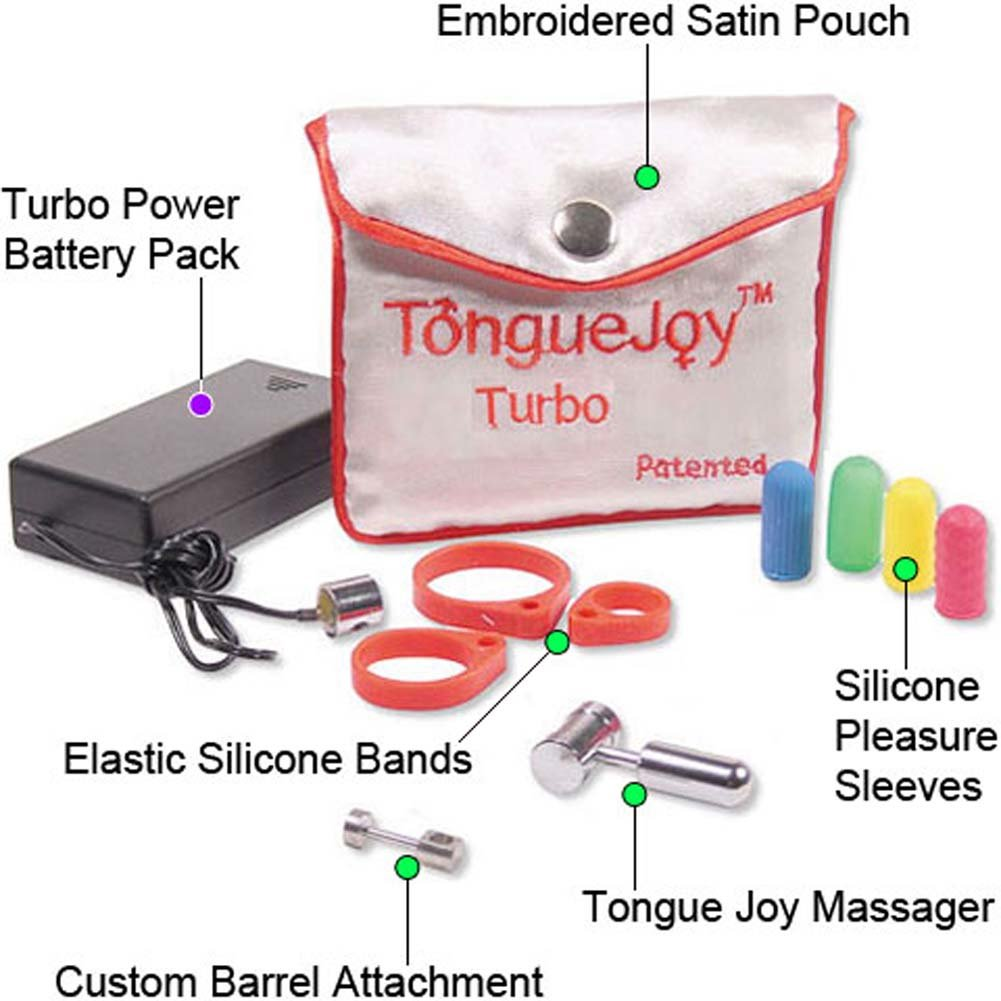 Tongue Joy Silicone Vibrating Set - View #1