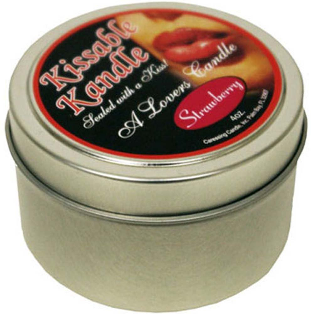 Kissable Kandle Strawberry 4 Oz. - View #1