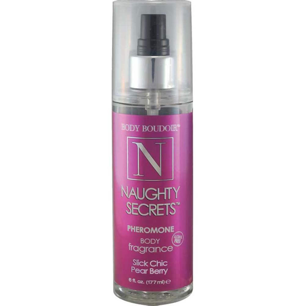 Naughty Secrets Body Mist With Pheromones Slick Chick Pear Berry 6 Fl. Oz. - View #1