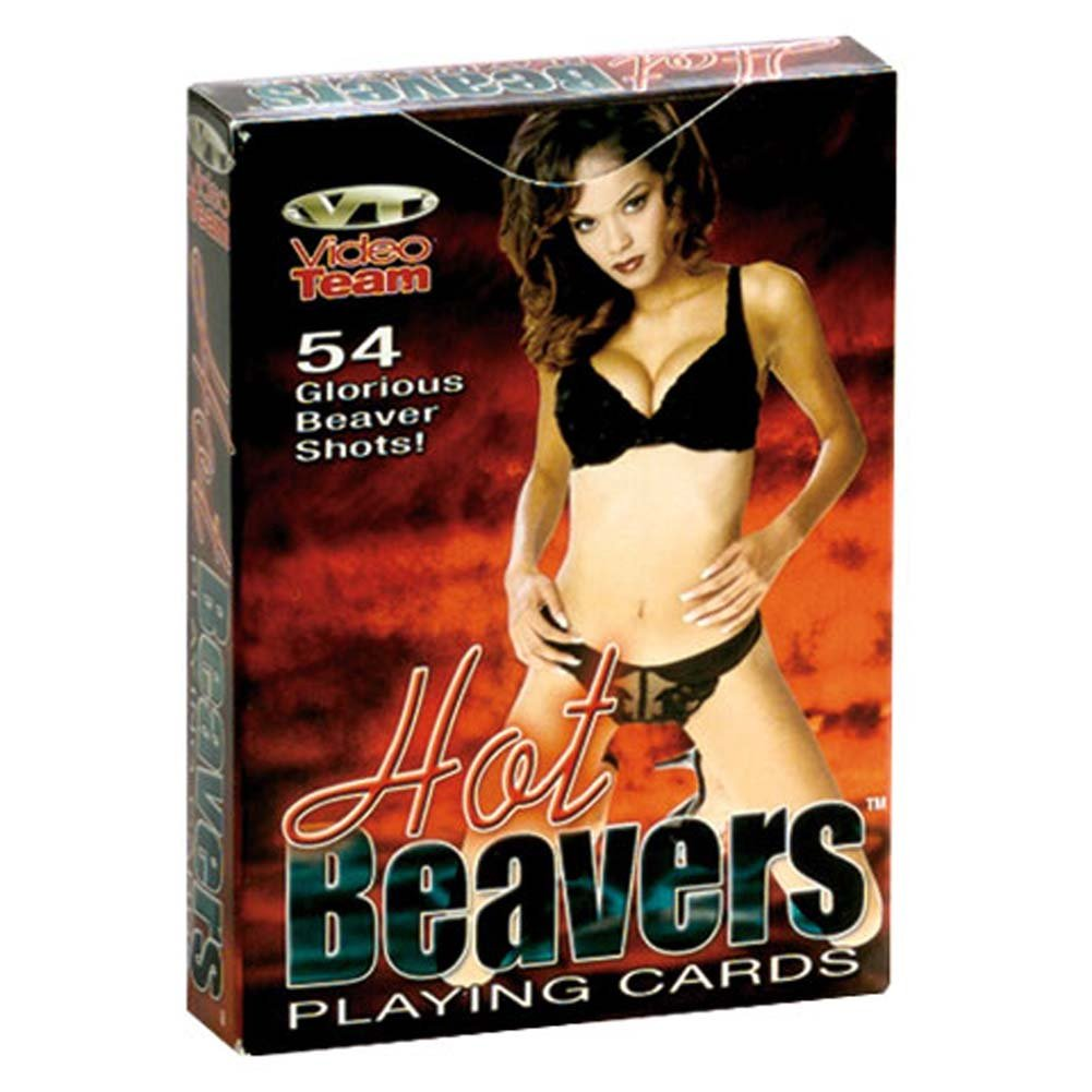 Hot Beavers Playing Cards - View #2