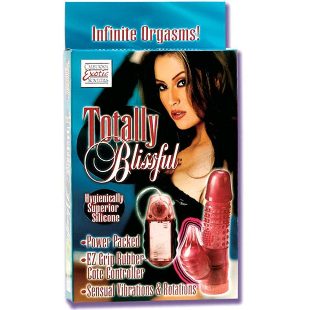 Totally Blissful Silicone Vibrator 6.5 In. - View #1