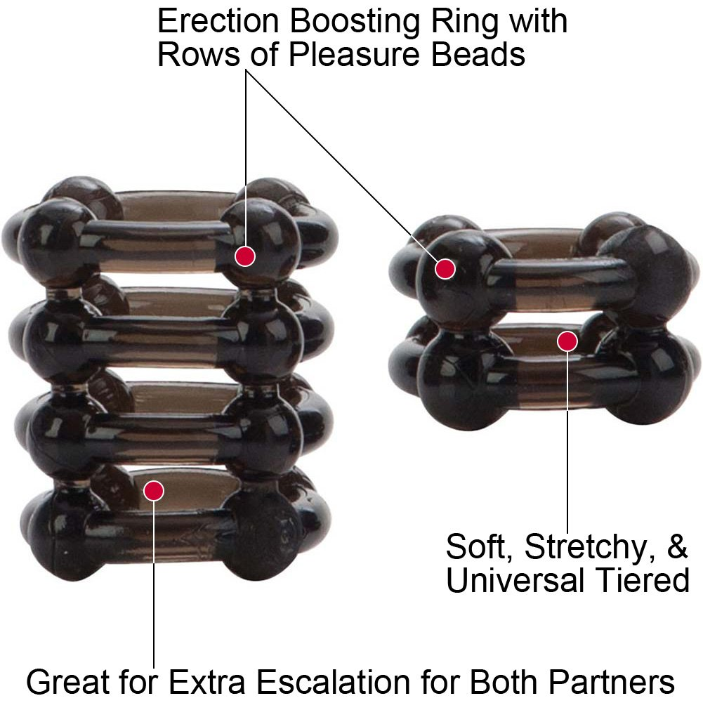 California Exotics COLT Enhancer Rings Pack of 2 Cock Rings Smoke - View #1